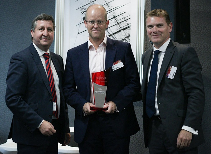 Viadex recognised as 2018 Fujitsu Datacentre Technology Partner of the Year.