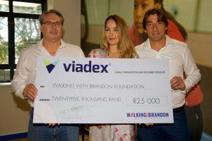 WWBF (Viadex Cheque Handover) 10