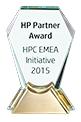 HP Partner Award - HPC EMEA Initiative 2015