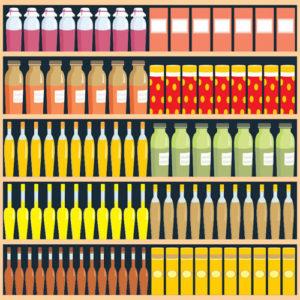 Supermarket-food-shelf-vector-material-01