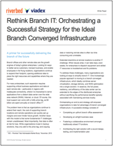 Orchestrate the Ideal Branch IT Infrastructure