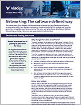 Networking: The software defined way