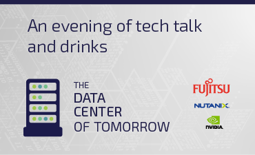 Join us at our 'Data Center of Tomorrow' event, sponsored by Fujitsu UK. Be there on 28th March to hear the latest from NVIDIA and Nutanix.