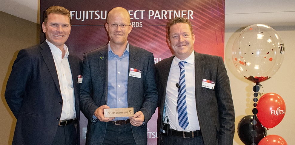 Viadex receive Fujitsu Global Partner of the Year for 2019 award