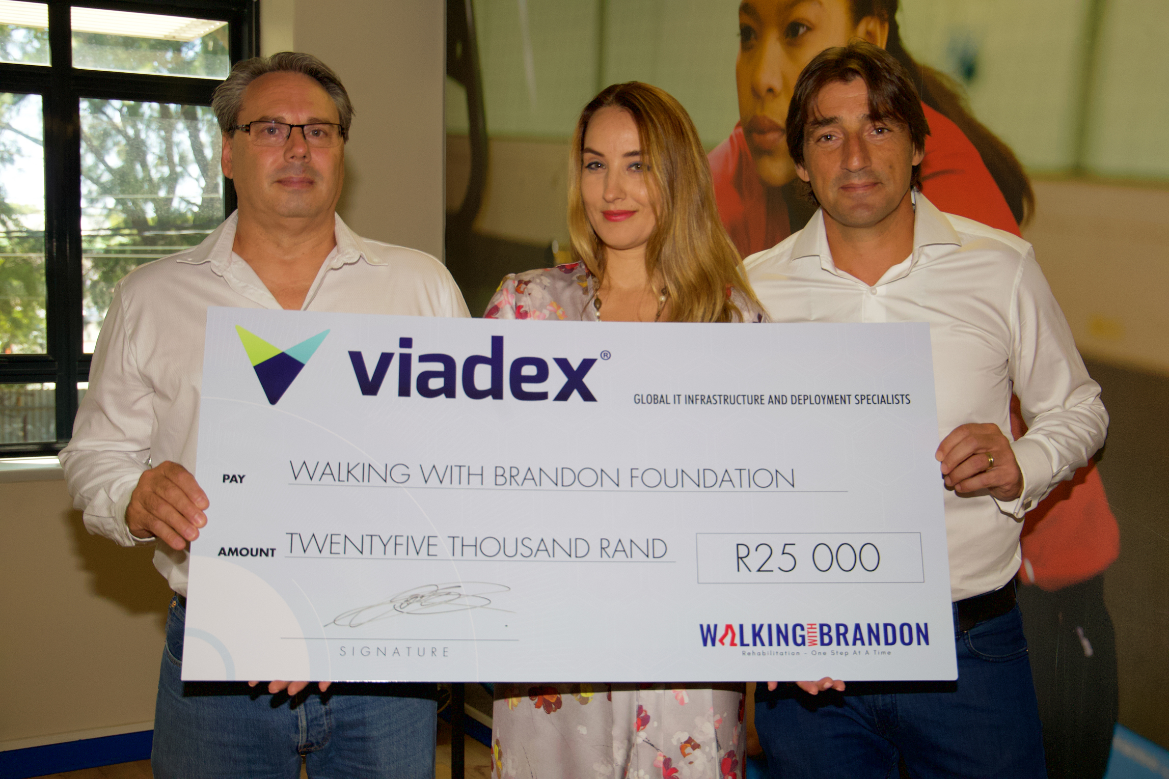 Walking With Brandon Charity Donation